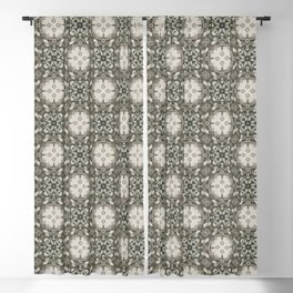 Bach Flower - Pattern 2 Blackout Curtain
