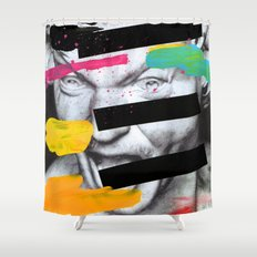 Composition 470 Shower Curtain