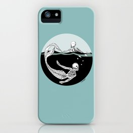 Stone Cold Sea Dwellers iPhone Case
