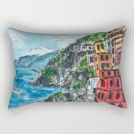 Viareggio, Cinque Terre Rectangular Pillow