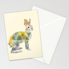 Ugly Sweater Hare Stationery Cards