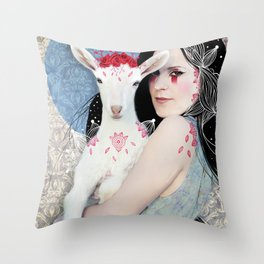 Dear Kozenka Throw Pillow