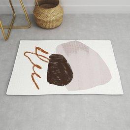 Abstract Desert 10 Mid Century Modern Inspired Rug