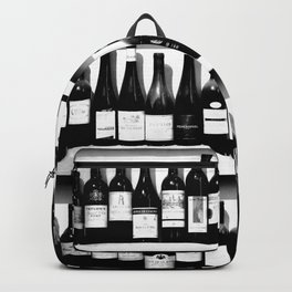 Wine Bottles in Black And White #decor #society6 #buyart Backpack