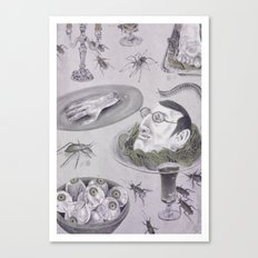 Beast Feast Canvas Print