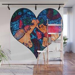 Love Elephants Wall Mural