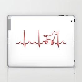Labrador Retriever Heartbeat Laptop & iPad Skin