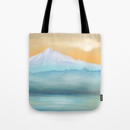 Sunrise Fuji Mount Tote Bag