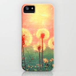 As time goes by iPhone Case