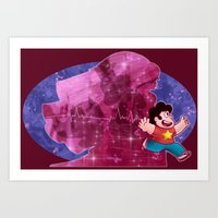 Steven Quartz Universe Art Print