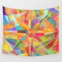 star Wall Tapestries featuring Star by Danny Ivan
