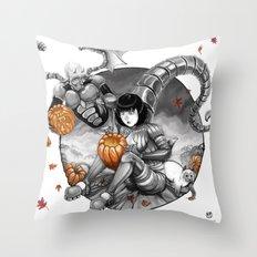 BounD: Halloween Throw Pillow