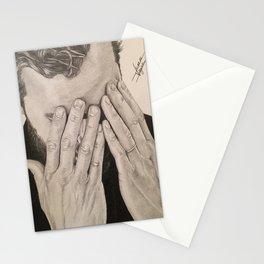 """Hands"" Jamie Dornan Stationery Cards"