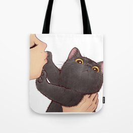 cat : huuh Tote Bag