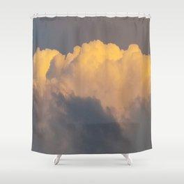 Walking on cloud 9 Shower Curtain