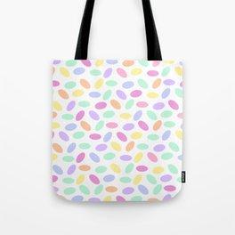 Pastel Jellybeans Tote Bag