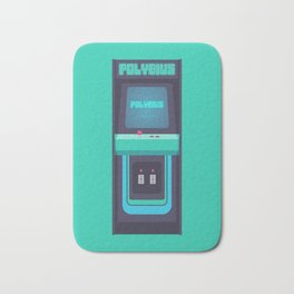 Polybius Arcade Game Machine Cabinet - Front Green Bath Mat