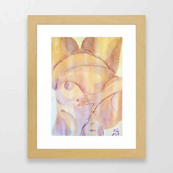 Connie Framed Art Print
