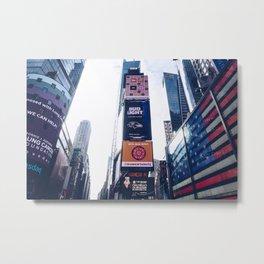 Daytime Times Square-NYC Metal Print