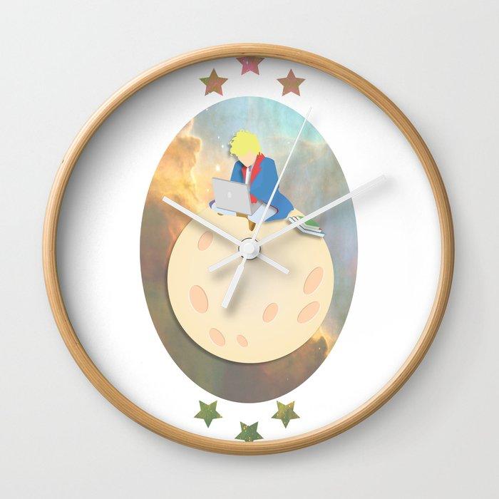 Modern Prince Wall Clock