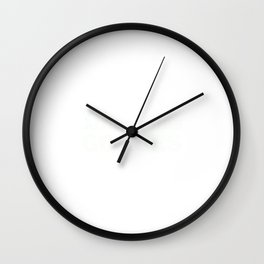 Ithaca Has Gorges Wall Clock