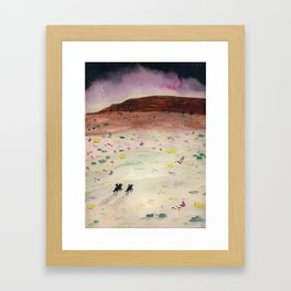 The Wild Ride Framed Art Print