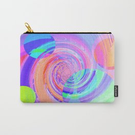 Re-Created Twisters No. 7 by Robert S. Lee Carry-All Pouch