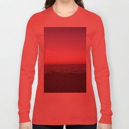 Sunset in Camini Long Sleeve T-shirt