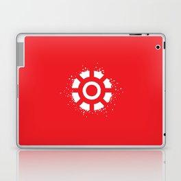 Square Heroes - man of iron Laptop & iPad Skin