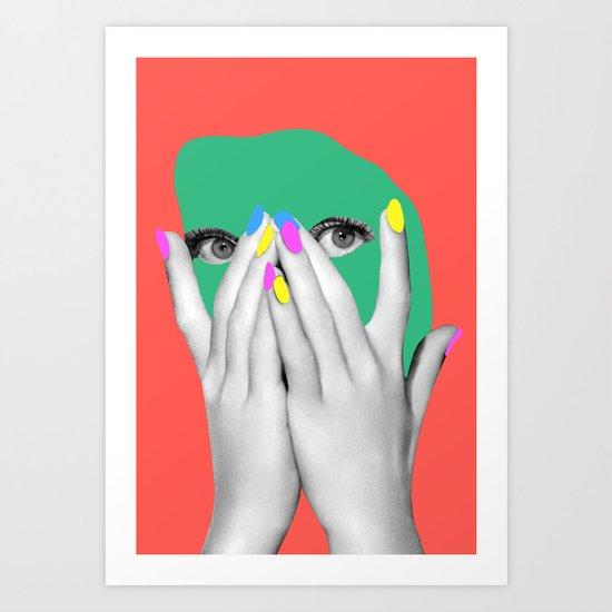 Sonia Art Print