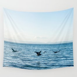 Flying Flock Wall Tapestry