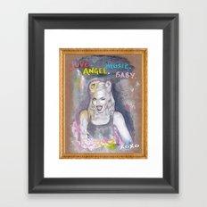 Heroine (Gwen) Framed Art Print