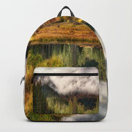 Transition Of The Seasons in Rocky Mountains Colorado by OLena Art Backpack