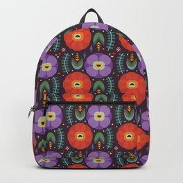 Flowerfully Folk Backpack