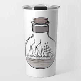 The Ship in the Bulb Travel Mug