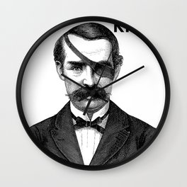 ONE-EYED KING  Wall Clock