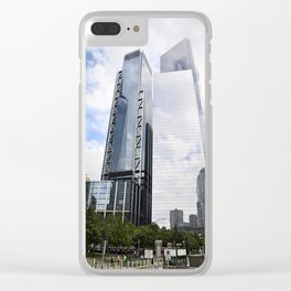 Downtown Power Clear iPhone Case