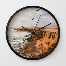 Chilean Coast Wall Clock