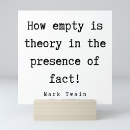 60  Mark Twain Quotes   190730 Mini Art Print