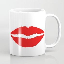 She & He: lips ad moustache Coffee Mug