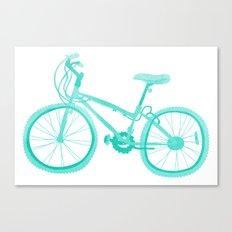 No Mountain Bike Love? Canvas Print