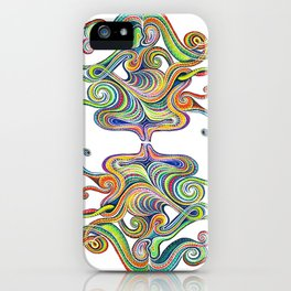 Flowrence iPhone Case
