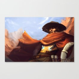 High Noon Somewhere Canvas Print