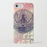 psych iPhone & iPod Cases featuring Psych Trap by ArtAngel