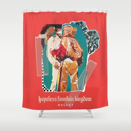 hopeless fountain kingdom Halsey Shower Curtain