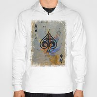 ace Hoodies featuring Ace by Michael Creese