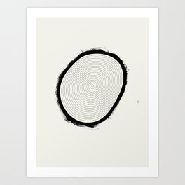 Beauty Of Age (West Meets East Series) Art Print