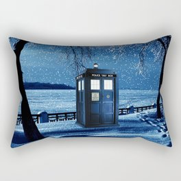 Tardis Rectangular Pillow