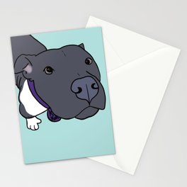 Faith The Resilient Pit Bull Stationery Cards