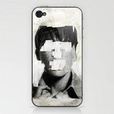 Faceless | number 02 iPhone & iPod Skin